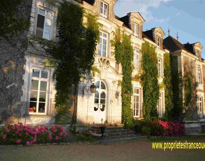 immobilier Sarthe (72):Propriété XVIIIème -  XIXème