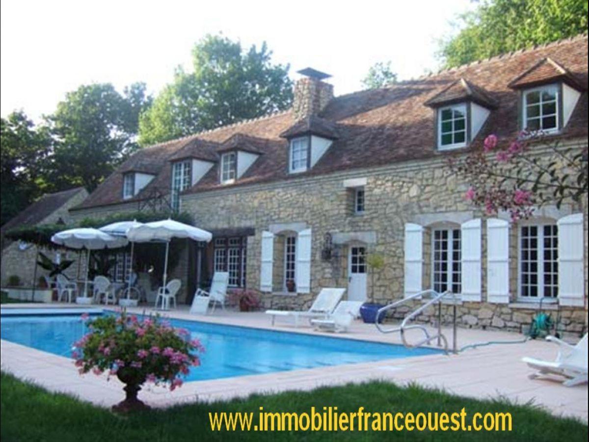 Demeure d exception a vendre Maine-et-Loire (49)