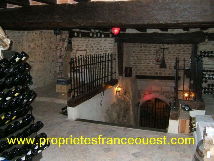 immobilier Sarthe (72):10. Cave avec espace 'réception'...