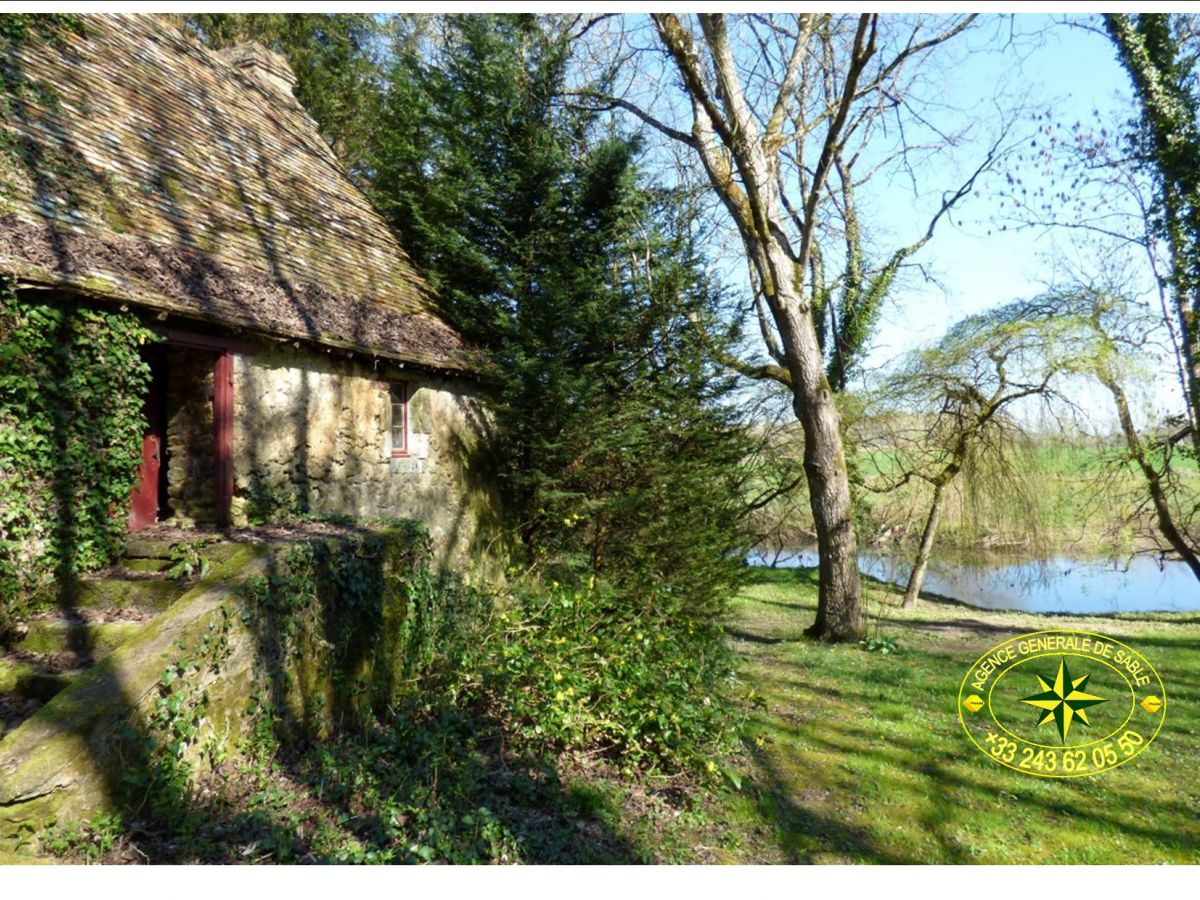 Maison a vendre bord de riviere