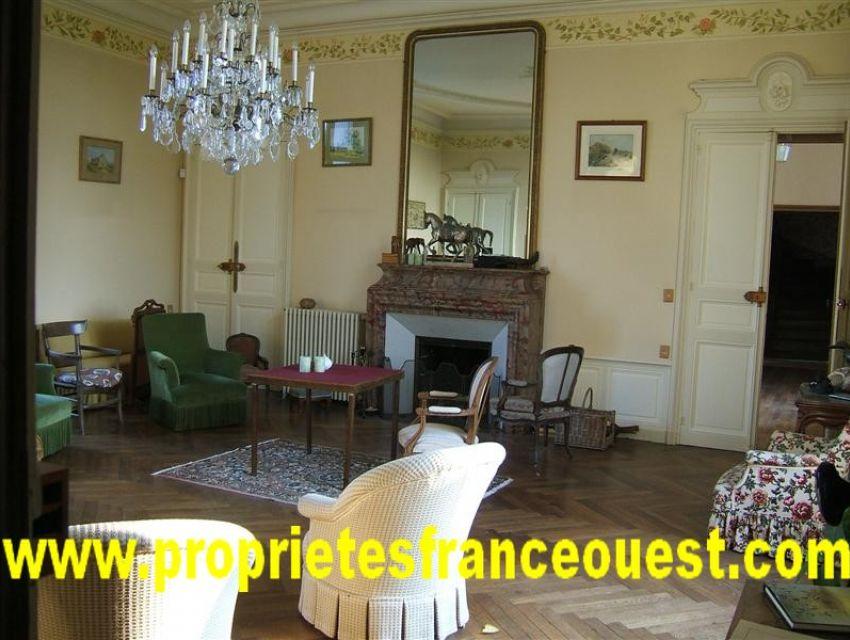 immobilier résidentiel et de prestige - Château - Caractère - Sarthe