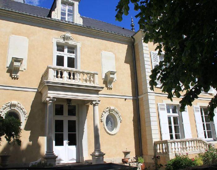Architecture XVIIIème  - oeil de boeuf - portique à colonnade - balustres