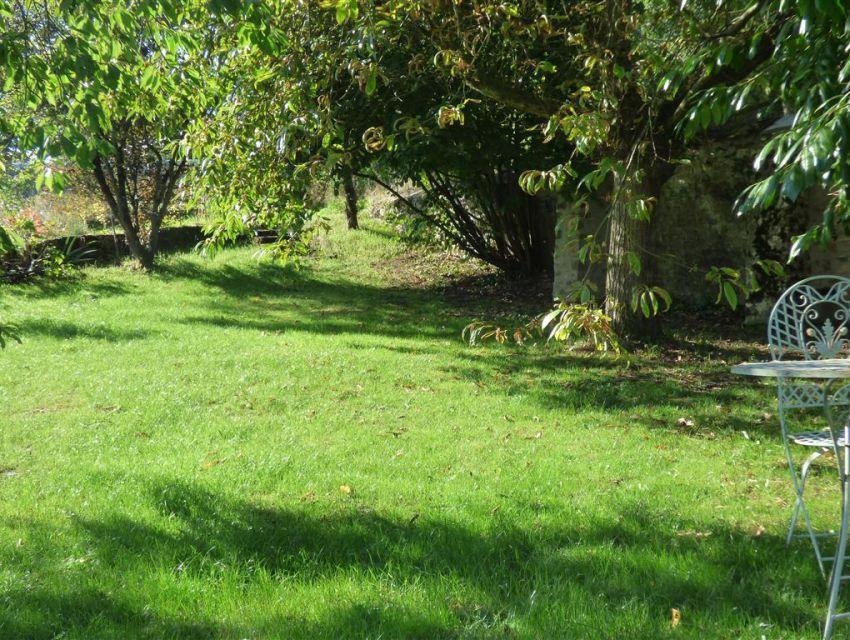Maison de maître - Propriété  - Sablé sur Sarthe - allée dans le jardin-parc.