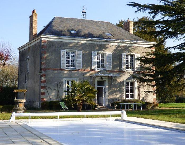 Maison et propriété caractere - val de Loir - Sarthe -proche château du Lude