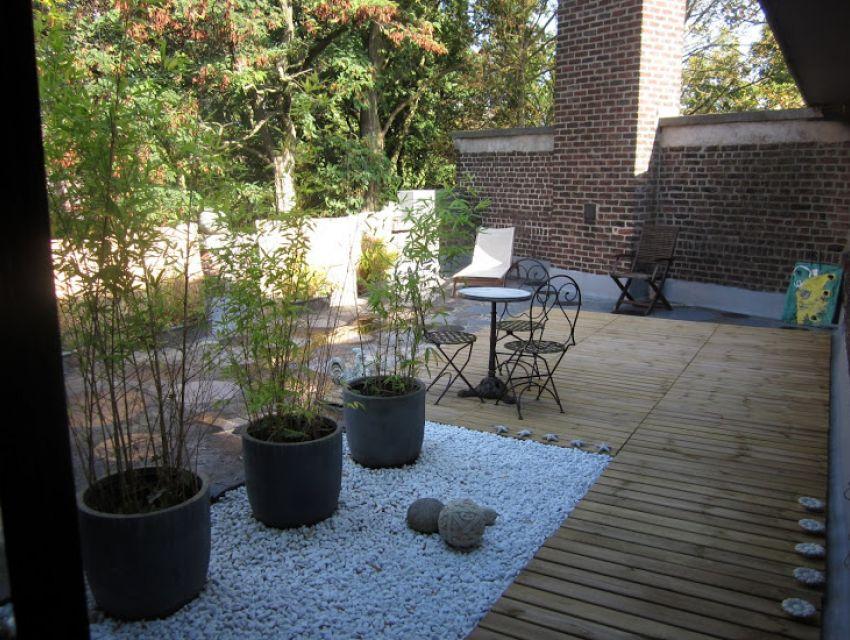 Terrasse et jardin waterloo roubaix maison design - Mobilier jardin waterloo villeurbanne ...