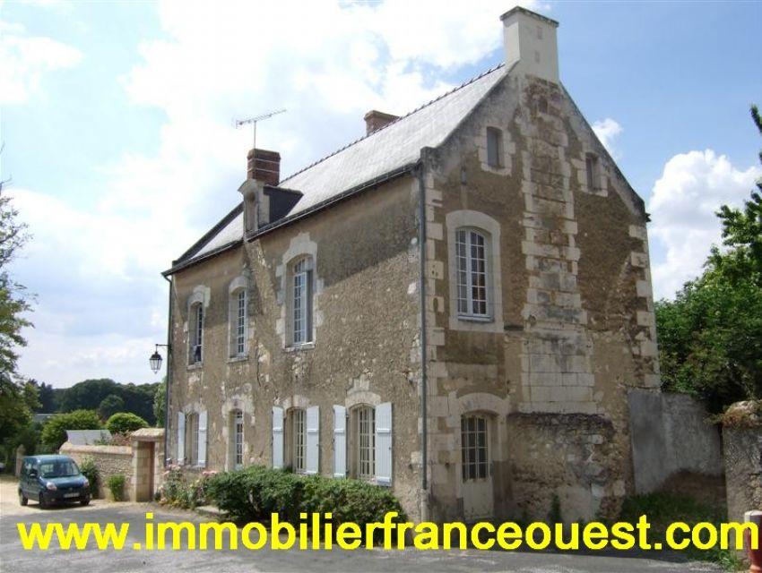 Demeure XVIIème siècle  Anjou charme et caractère région Baugé (Maine et Loire)